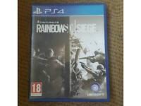 Ps4 Tom Clancy's Rainbow 6 Siege
