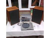 Pair Magnum K2 Speakers and Sony amp./ cassette deck. / turntable.