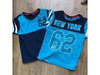 Boys age 6-7 tshirts