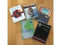 Biology school text books - GCSE and A level