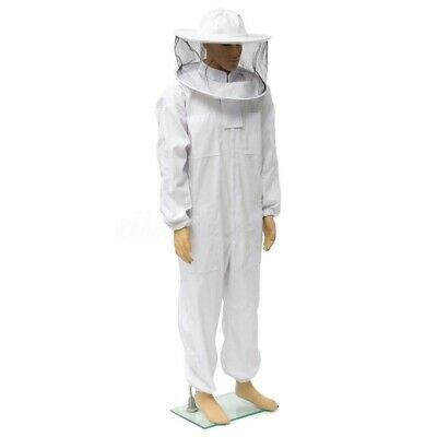 2xl Beekeeper Protect Bee Keeping Suit Jacket Safty Veil Hat Body Equipment Hood
