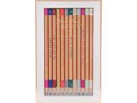 Brand new Ted Baker Porcelain Rose Set of 12 Colouring Pencils