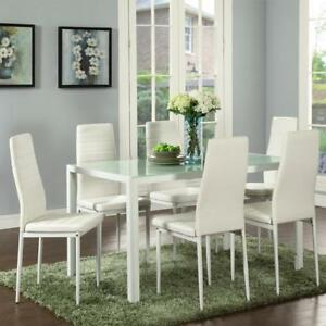 WHITE DINING ROOM SET | KIJIJI DINING ROOM SET (WO2230)