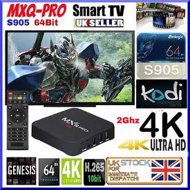 Android UK-MXQ-PRO-7-S1 64 bit fully loaded Jailbroken TV Movie Sports Kids Free no Subscriptions