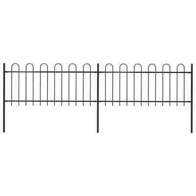 vidaXL Garden Fence Hoop 3.4x0.8m Outdoor Panel Barrier Border
