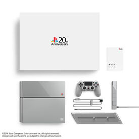 PLAYSTATION 4 20th ANNIVERSARY CONSOLE