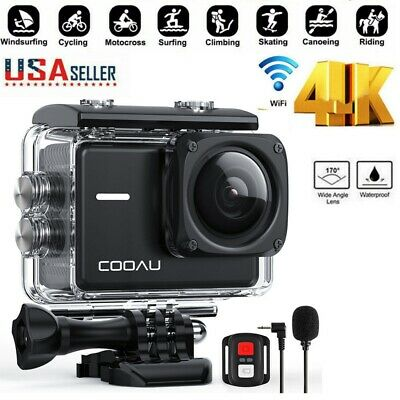 US Wifi 1080P 4K Ultra Full HD Sport Action Camera DVR DV Waterproof Camcorder