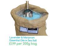 Lavender & Marjoram Bath Salts