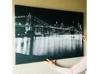 Brooklyn Bridge wall hanging
