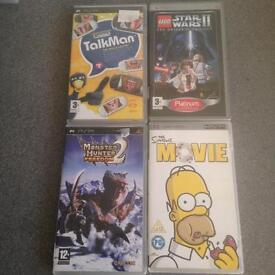 Sony PSP games collection f