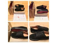 Christian Louboutin Low Top Suede Trainers Shoes Mens Boys Girls Footwear Various Size UK EU