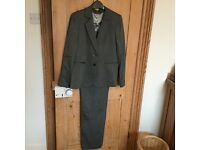 Paul Costello ladies wool mix suit Size UK 10/12 brand new with tags
