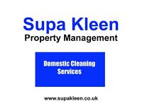 Supa Kleen Domestic Cleaning Services. Friendly. Professional. Affordable.