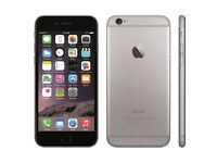 Iphone 6 grey unlocked 16g with new battery + Apple headphones