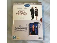 Disney Mary Poppins & Saving Mr Banks Blu Ray