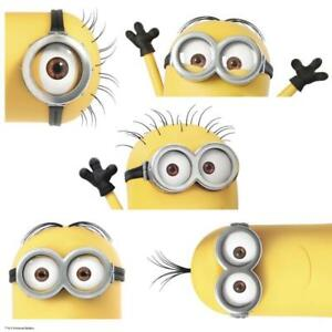 RoomMates RMK3567GM  Despicable Me 3 Peeking Minions Giant Peel and Stick Wall Decals  (New Other)