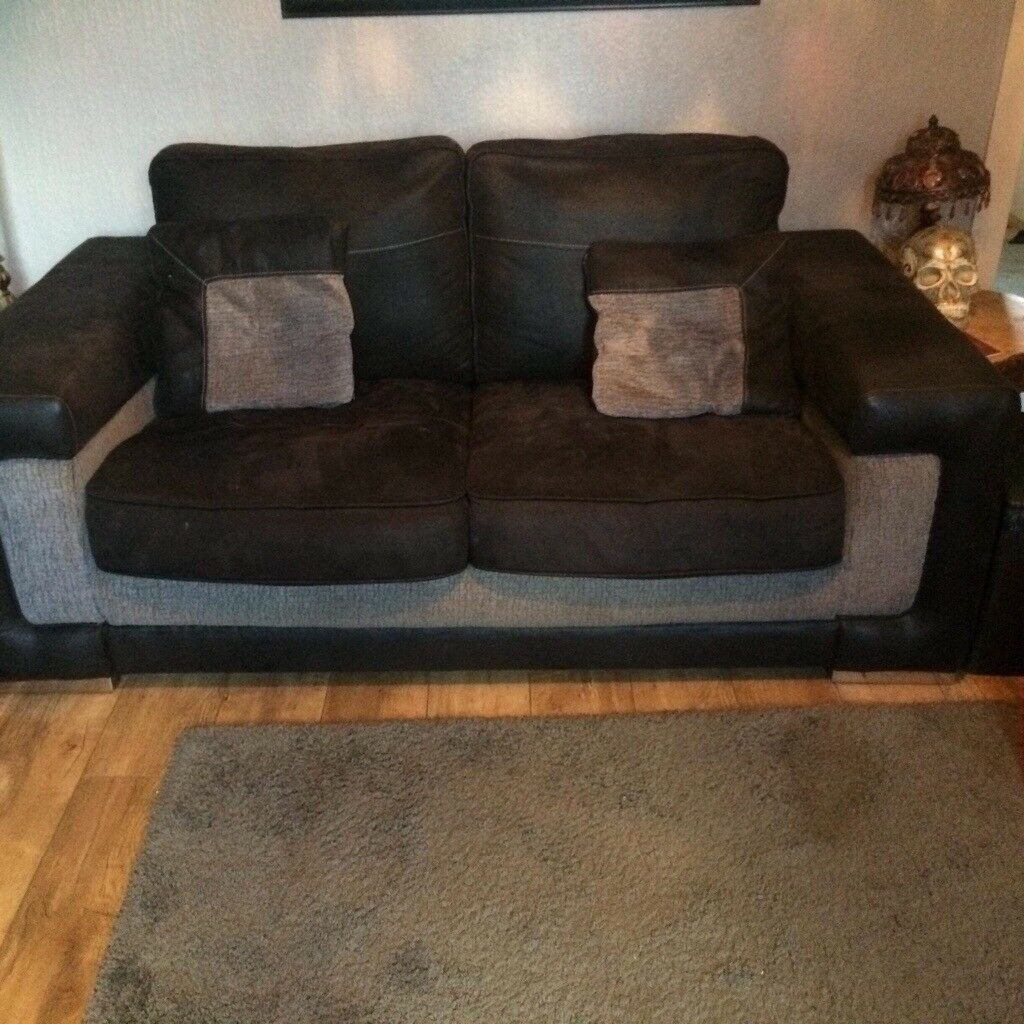 Two Seater Sofa And Large Swivel Chair 200 Ono In Bellshill North Lanarkshire Gumtree