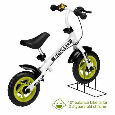 25.4cm Enkeeo Balance Bicicleta Sin Pedal Con Bell Y Mano Freno Para...