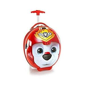 Heys Nickelodeon Kids Circle Shaped 16 Inch Rolling Luggage - PAW Patrol [ Red ]