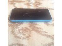 iPhone 5c 16 gb on ee *needs new screen*