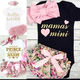 Cute baby girl phases outfits