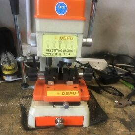 2 key cutting machines in excellent condition for house and car keys