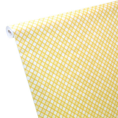 0,48 €/ M ² 7m 1,20m Paper Tablecloth Schotten-Karo Yellow - Checked Paper Tablecloths