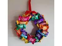 Chocolate wreath