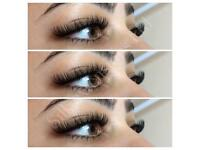 Individual Eyelash extensions 1:1 Classic, Russian Volume, Microblading