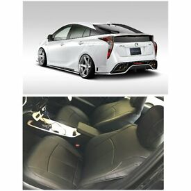 CAR LEATHER SEAT COVERS TOYOTA PRIUS