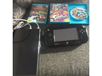Nintendo wii u console and games