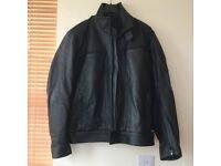 Genuine BMW Motorrad Leather Motorcycle Jacket XL