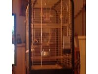 Parrot cage ferplast make