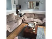 X2 3 seater sofa's