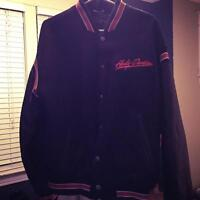 Harley Davidson Wool/Leather Jacket