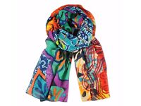 DESIGUAL WOMEN SCARF NEW WITH TAGS