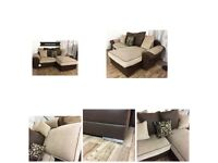 New embrace chaise corner sofa**Free delivery**