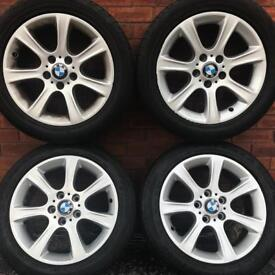bmw 17 inch alloy wheels 3 series VW t5 transporter Vauxhall Vivaro Renault Trafic Nissan Primastar