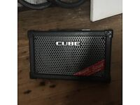 Roland Street Cube battery powered stereo amplifier