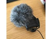 RODE Stereo VideoMic Pro with Dead Kitten Cover