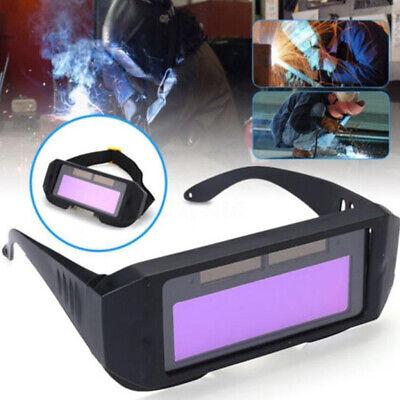 Portable Solar Auto Darkening Welding Tig Mig Goggles Welder Helmet Eyes Glasses