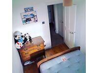 Single room in modern Georgian maisonette