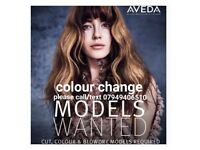 COLOUR CHANGE models needed for Mondays