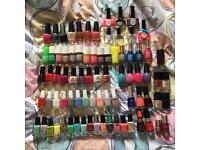 Job lot 77 nail polishes - OPI, Models Own, Essie, Ciate & more