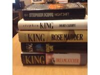 5 Stephen King books 4 Hardback and 1 paperback collection 20 short stories