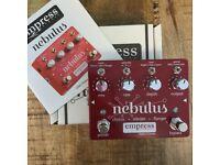 Empress Nebulus Chorus, Flanger & Vibrato