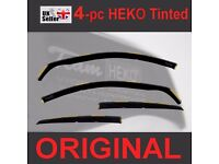 Wind Deflectors AUDI A3 MK2 II SPORTBACK 8PA 5-doors 2004-2012 4-pc HEKO Tinted