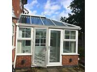 Upvc conservatory with glass roof,professionally dismantled. + More conservatories !