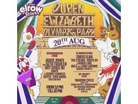 1 Elrow Closing Ceremony London Ticket- 20th August