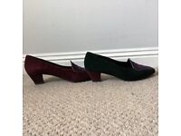 Ladies Bally Two Tone, Size 6 Shoe